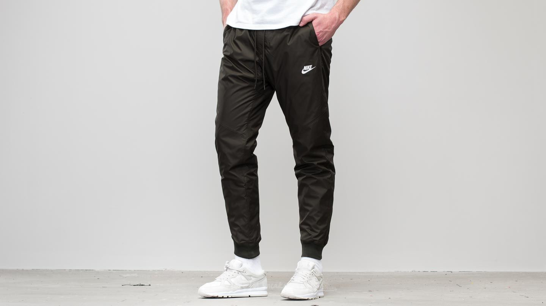 bceca05359 Nike Sportswear Windrunner Pants Sequoia  Sequoia  White