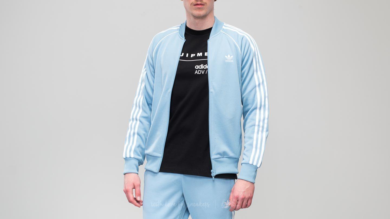 e0ebcfc7009 adidas Superstar Track Jacket Ash Blue