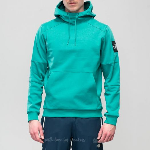 The North Face Fine Box Hoodie Porcelain Green | Footshop