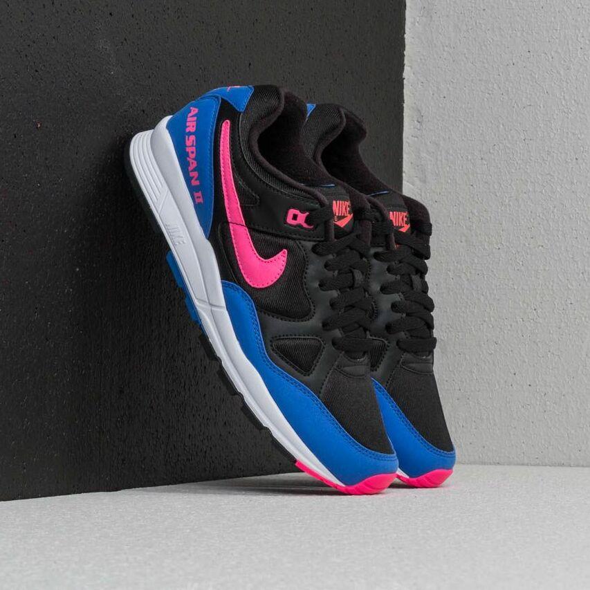 Nike Air Span II Black/ Hyper Pink-Hyper Royal EUR 42.5
