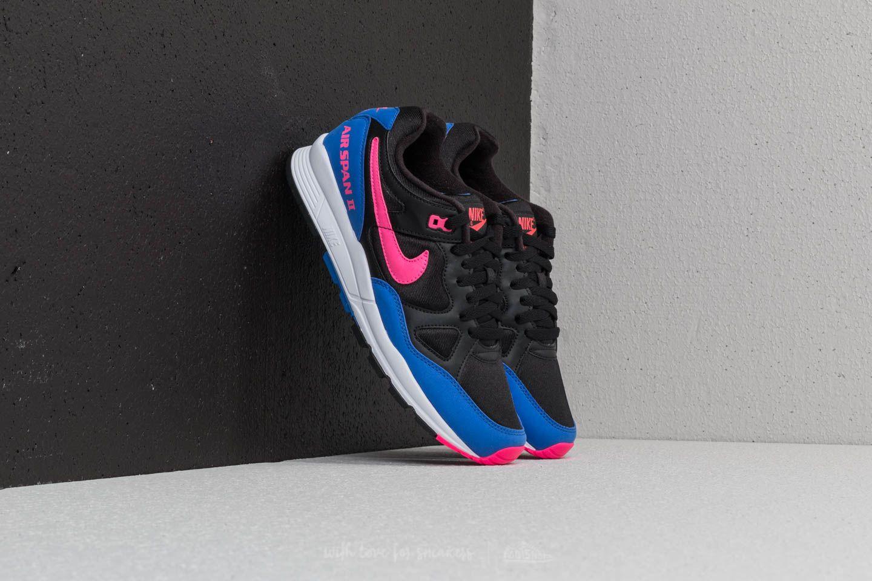 Nike Air Span II Black/ Hyper Pink-Hyper Royal au meilleur prix 99 € Achetez sur Footshop
