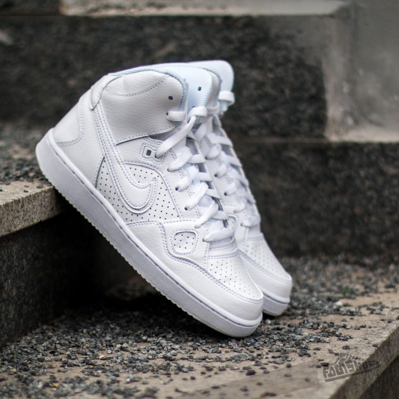 more photos ff324 c74a4 Nike Son Of Force MID White White