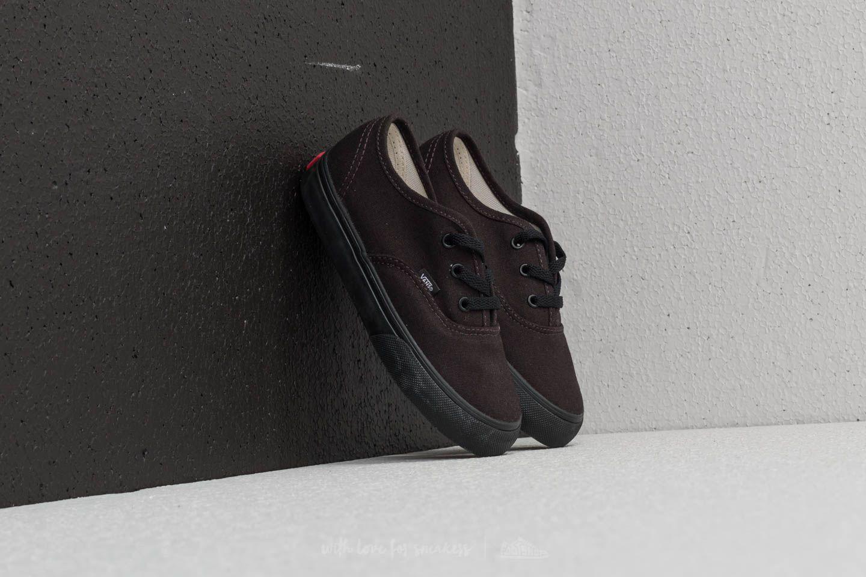 Vans Toddler AUTHENTIC Black/Black za skvělou cenu 590 Kč koupíte na Footshop.cz