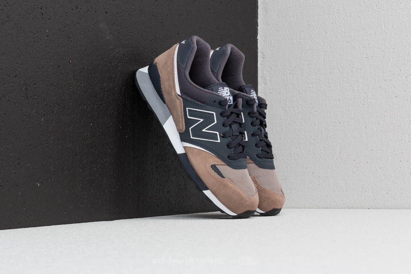 best sell free shipping amazing price New Balance 446 Navy/ Brown | Footshop