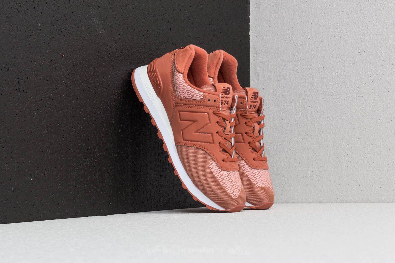 new balance 574 donna peach