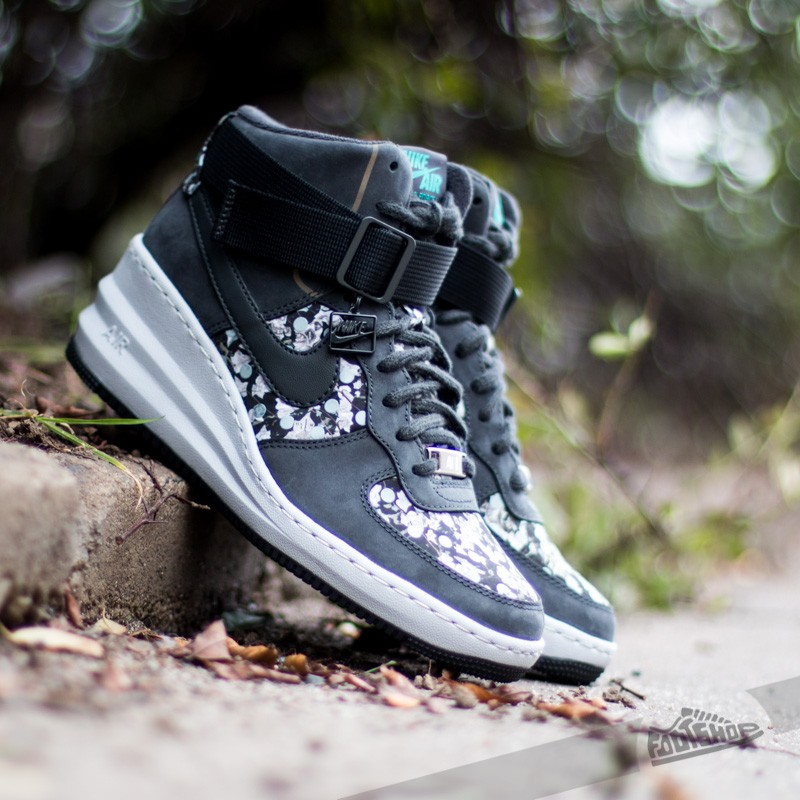 detailed look 7dc00 ce0f1 Nike Wmns Lunar Force 1 Sky HI LIB QS Liberty Dark ASH