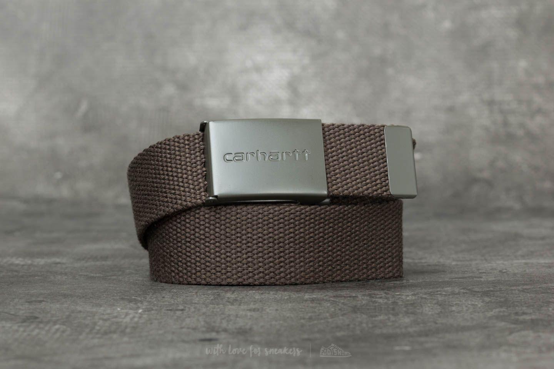 Carhartt WIP Clip Tonal Belt Cypress za skvělou cenu 750 Kč koupíte na Footshop.cz