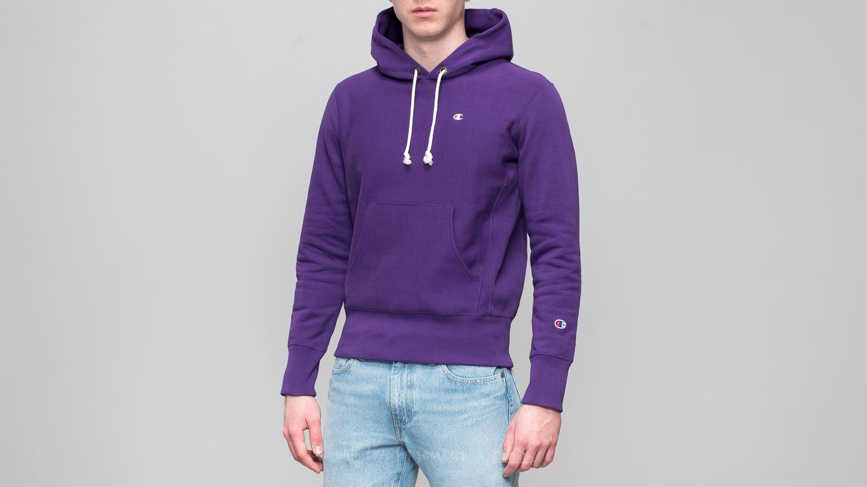 b66ed5854f7e Champion Hooded Sweatshirt Purple