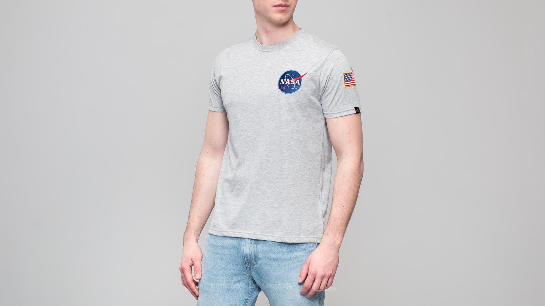 Alpha Industries Space Shuttle Tee Grey Heather