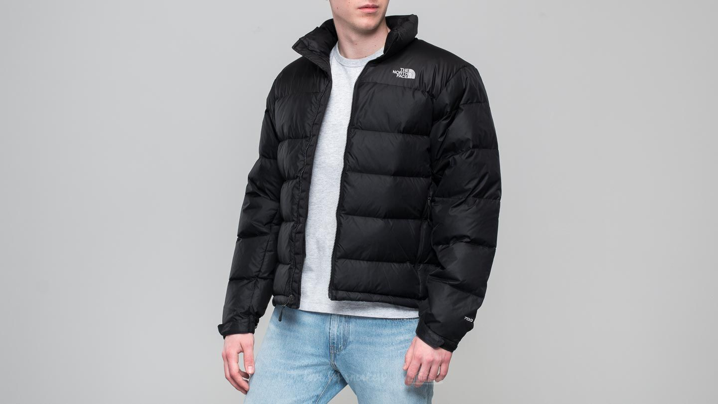cf58980a049f The North Face Nuptse 2 Jacket Tnf Black  High Rise Grey