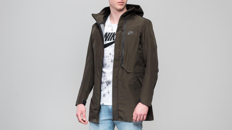 bf66be10ad553 Nike Sportswear Tech Pack Shield Jacket Seauoia/ Black | Footshop