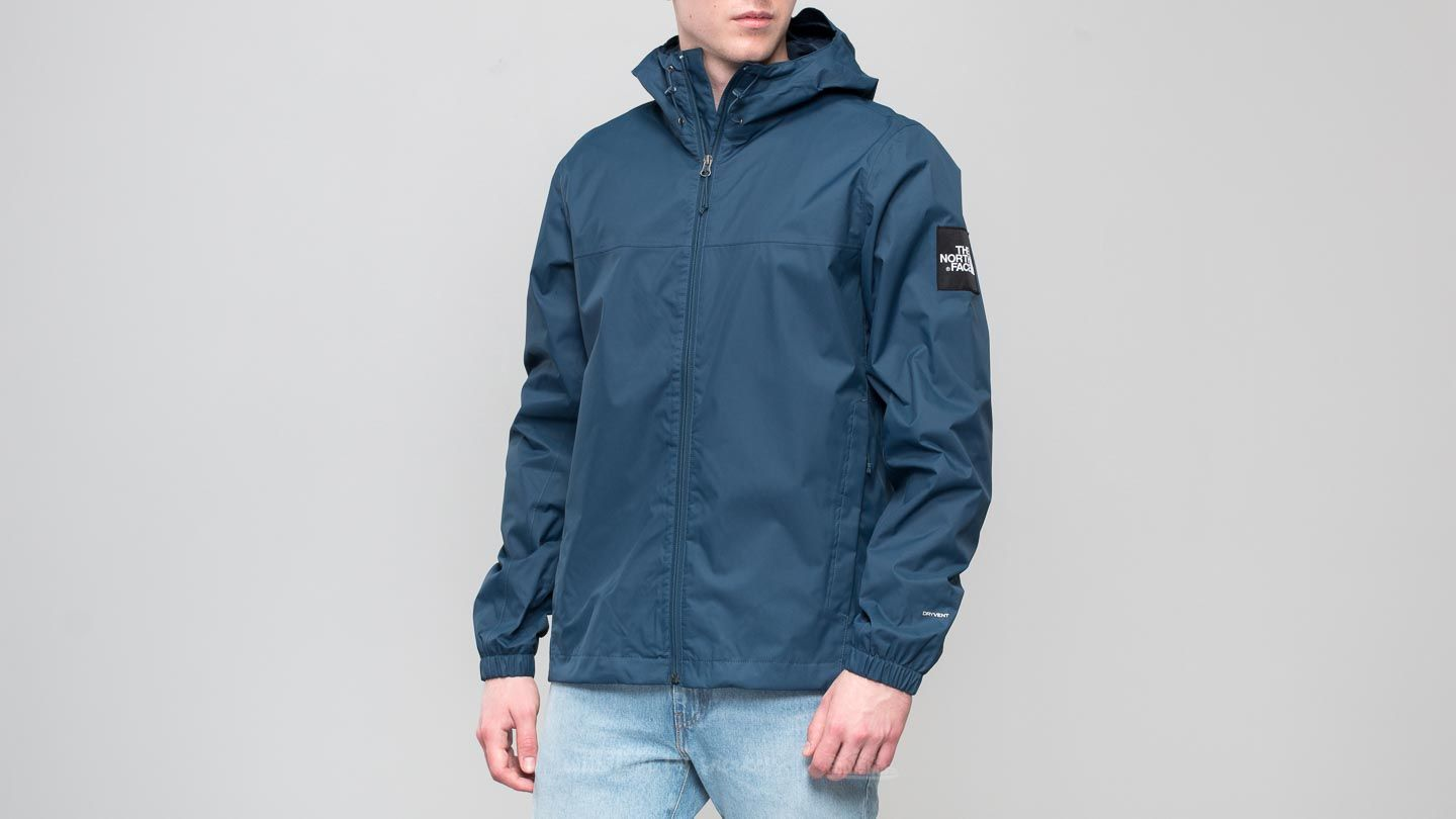 The North Face Mountain Quest Jacket Blue Wing Teal  86b8651277d0
