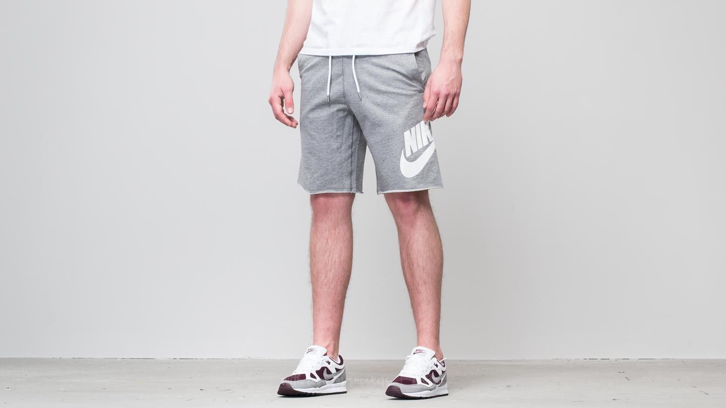 Nike Sportswear GX Fitted Shorts Medium Grey Heather  acb856884c49