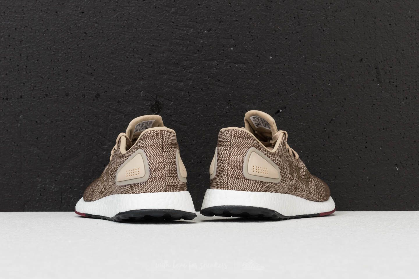 check out 5ca43 93a0f free shipping adidas pure boost grey gold b910f db116