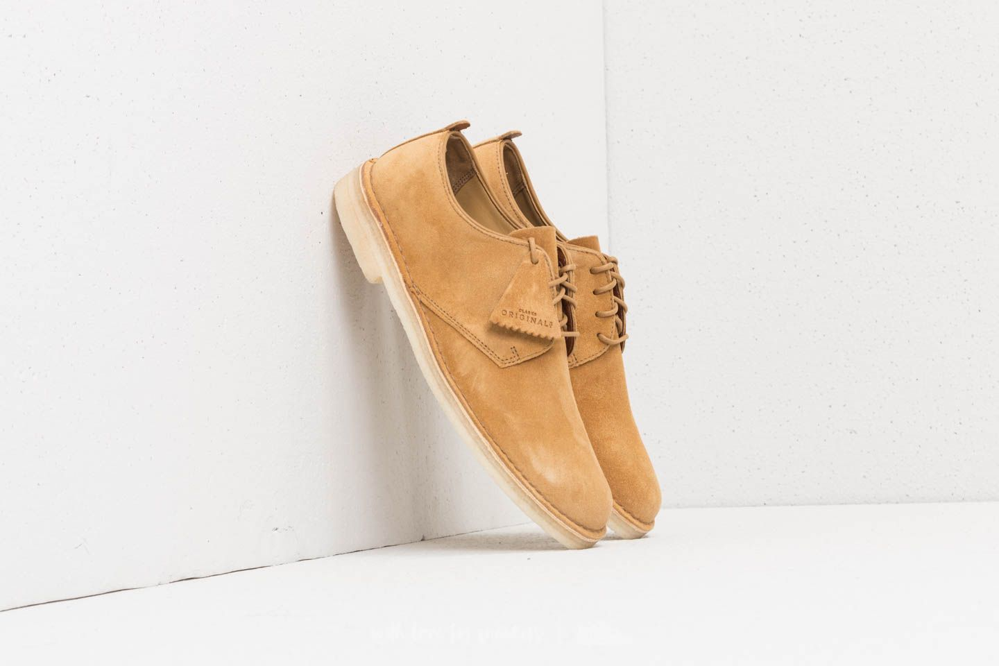 Clarks Originals Desert London Oak Suede at a great price $94 buy at Footshop