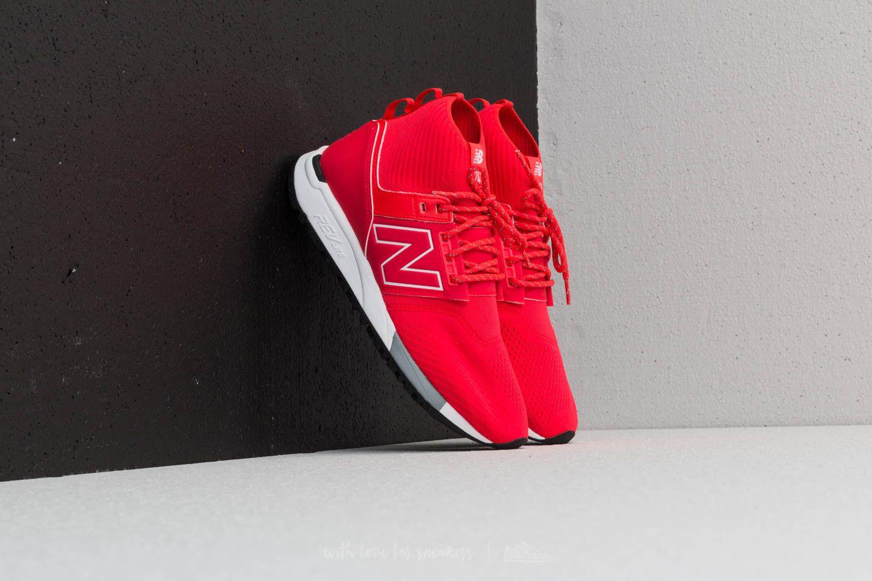 New Balance 247 Red/ White