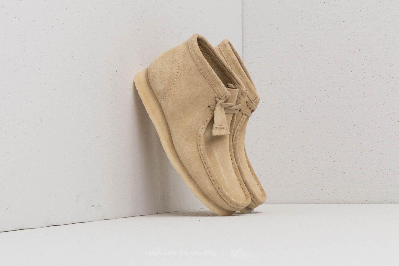 Wallabee Boot Footshop Clarks Originals Suede Maple AwCxHaZq