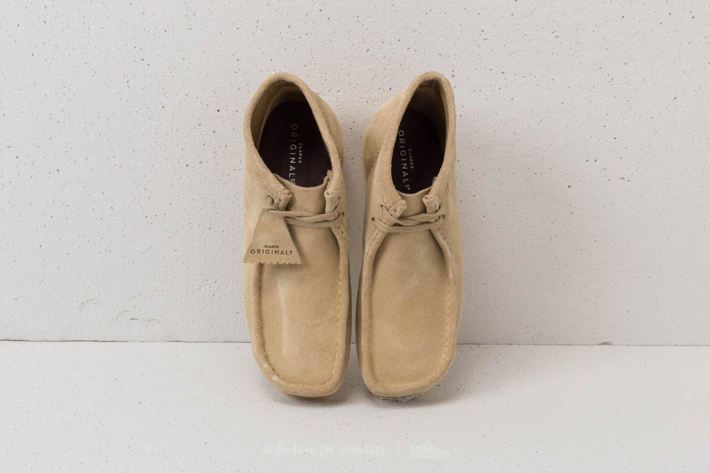 a19c3ae0 Clarks Originals Wallabee Boot Maple Suede | Footshop