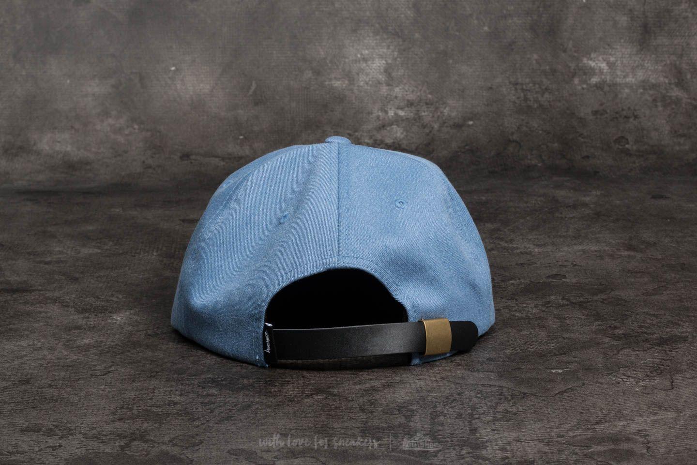 f93e91255997b Stüssy Melange Denim Strapback Cap Blue at a great price  35 buy at Footshop