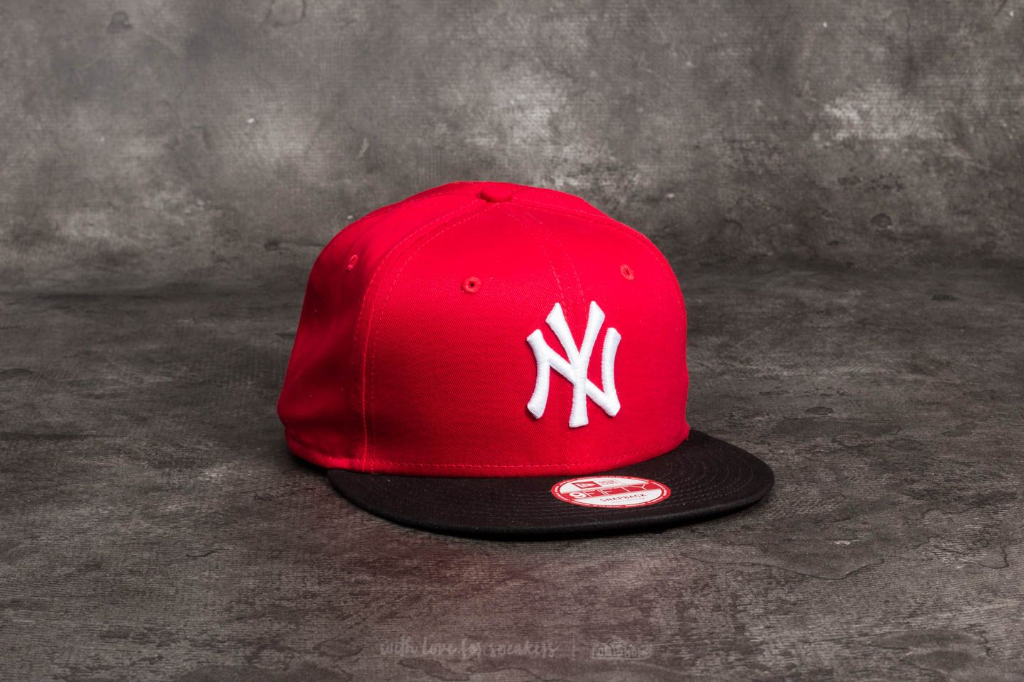 competitive price a2ad8 7135b New Era 9Fifty MLB Cotton Block New York Yankees Cap