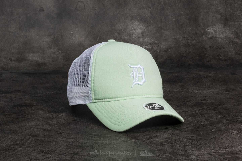 New Era 9Forty Women MLB Oxford Detroit Tigers Trucker Pastel Green
