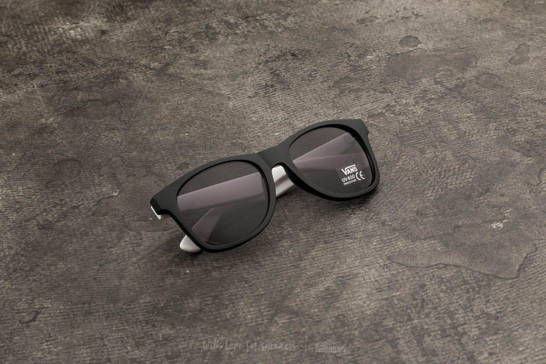 25851057b4 Vans Spicoli 4 Shade Sunglasses Black  White