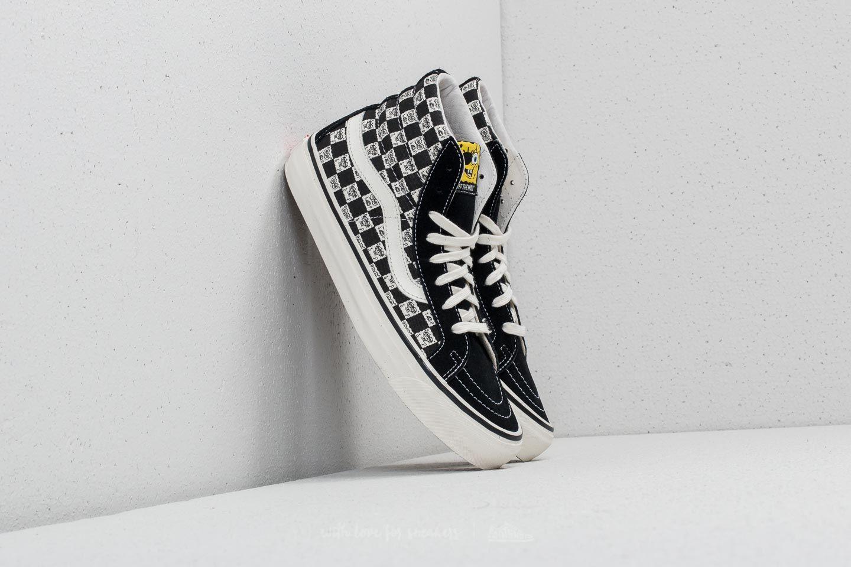 8ef56b15dc3349 Vans OG Sk8-Hi LX (Spongebob) Checkerboard