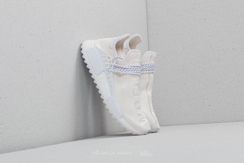 adidas human race white
