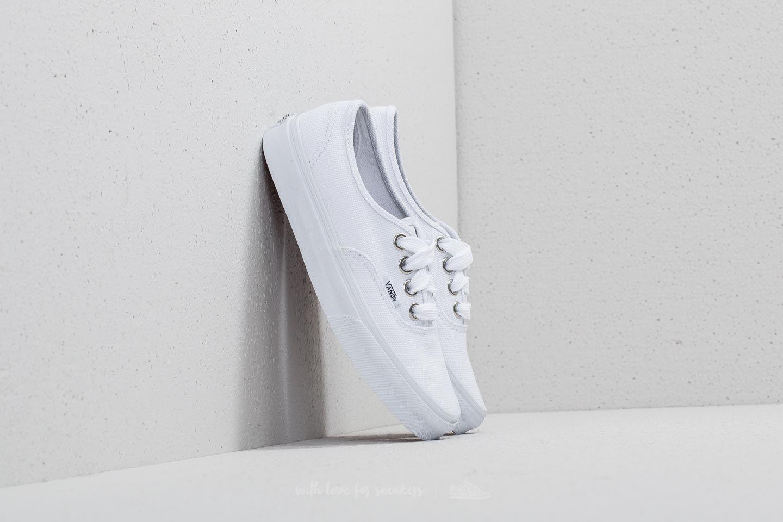 411d021efef7b1 Vans Authentic (Oversized Lace) True White
