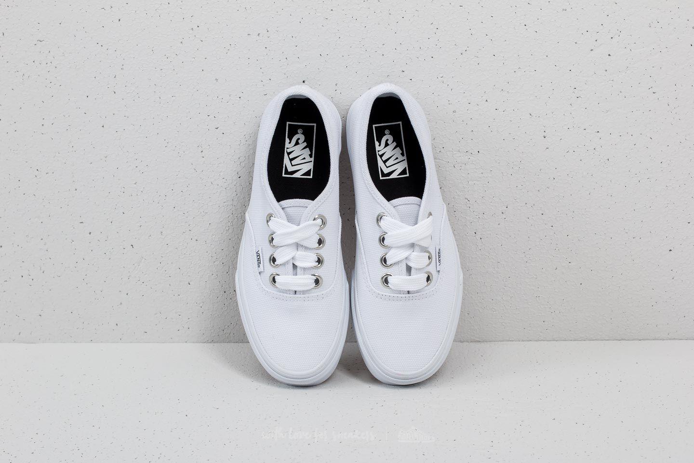 66d73d39 Vans Authentic (Oversized Lace) True White   Footshop