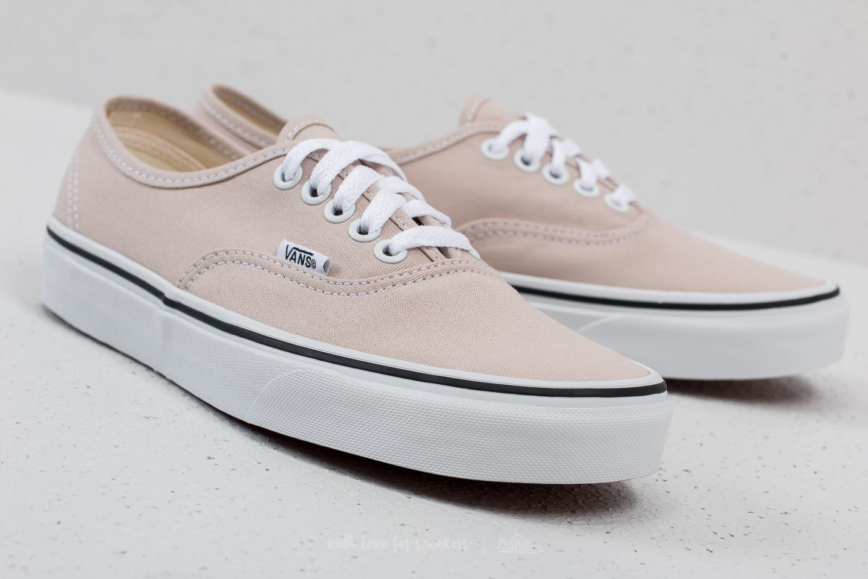 Women's shoes Vans Authentic Silver