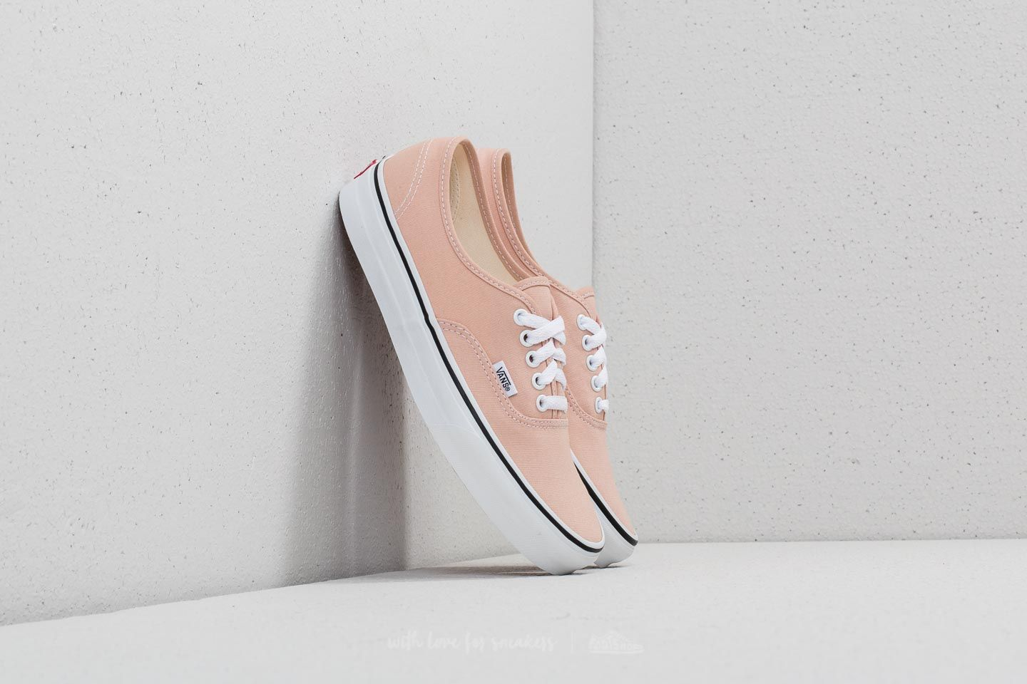 8125cef226 Vans Authentic Frappe  True White