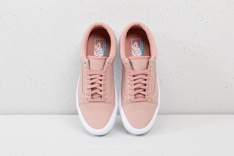 Vans Old Skool Lite (Perf) Blush Pink True White | Footshop