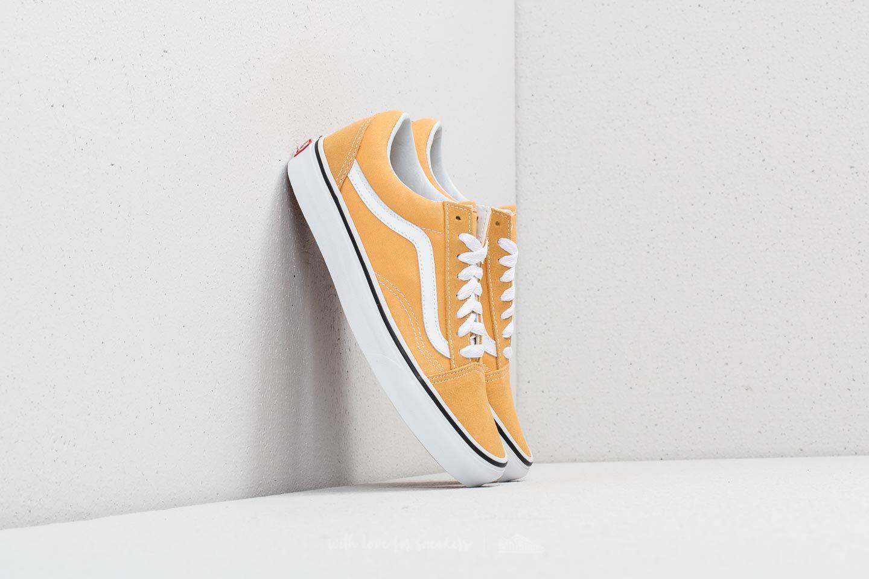 shoes Vans Old Skool Ochre/ True White