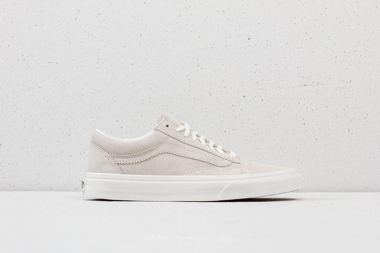 Vans Old Skool (Pinked Suede) Silver Lining | Footshop