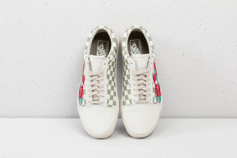 Vans Old Skool DX (Rose Embroidery) Marshmallow | Footshop