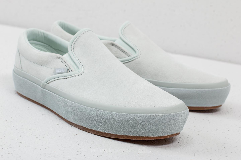 Vans Classic Slip-On Platform (Suede Outsole) Blue Flow   Footshop