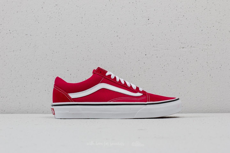 Vans Old Skool Crimson True White | Footshop