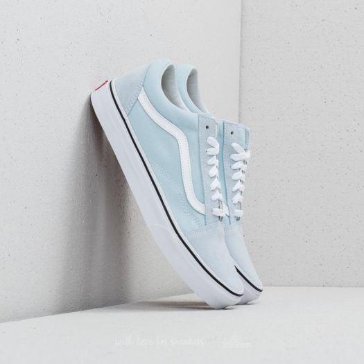Vans Old Skool Baby Blue True White   Footshop