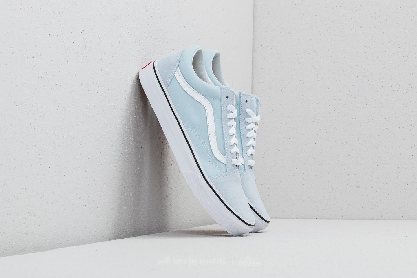 46705bb6c16 Vans Old Skool Baby Blue  True White