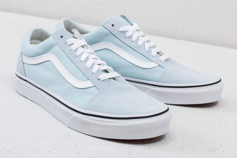 Vans Old Skool Baby Blue True White | Footshop