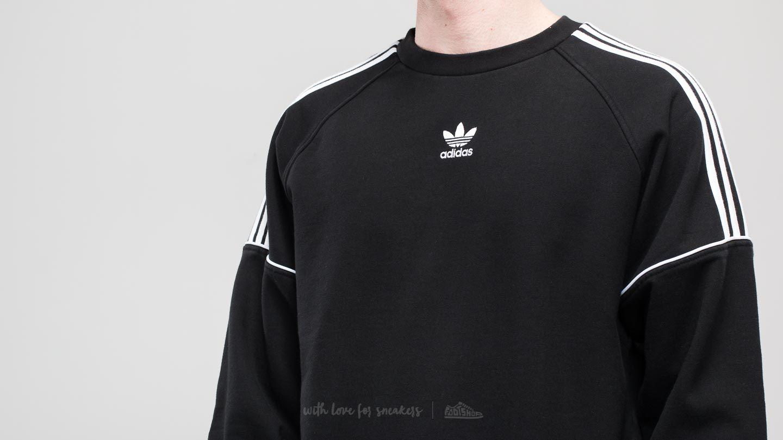 adidas Pipe Crew Sweat Black White | Footshop