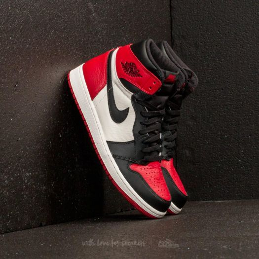 """Air Jordan 1 Retro High OG BG """"Bred Toe"""" Gym Red/ Black ..."""