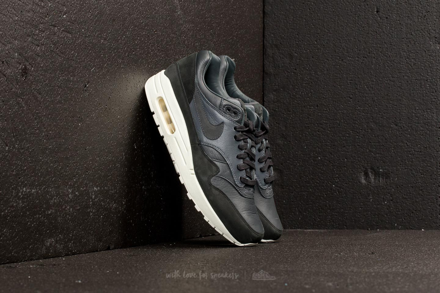 NikeLab Air Max 1 Pinnacle Black  Anthracite-Dark Grey at a great price 114 574bd4f90