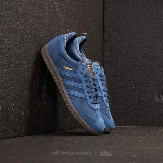 adidas Samba FBDark Blue Dark Blue Gold Metallic