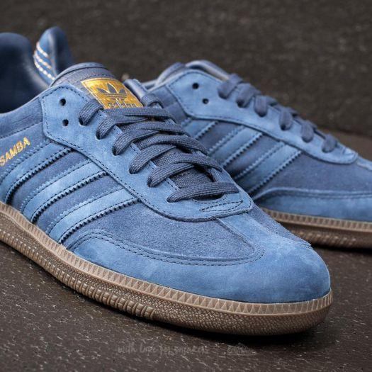 Men's shoes adidas Samba FB Dark Blue