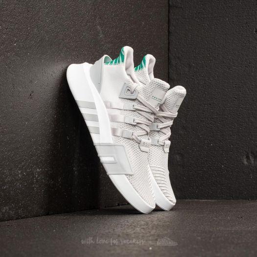 adidas EQT Bask ADV Grey One/ Grey One/ Sub Green | Footshop