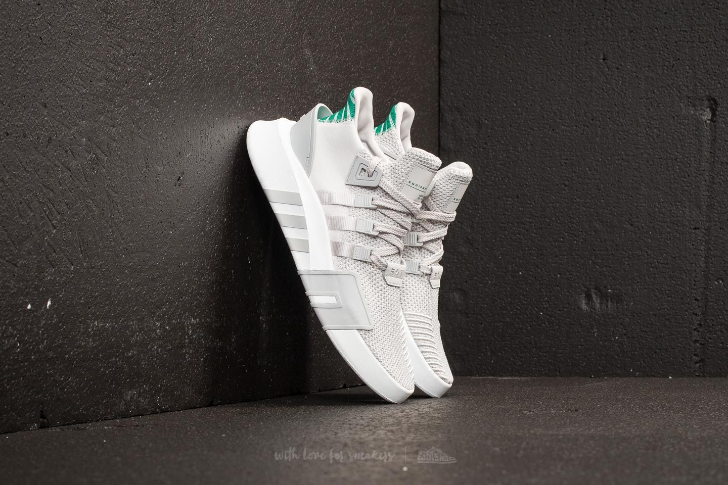 best website bc15c ebf31 adidas EQT Bask ADV Grey One/ Grey One/ Sub Green | Footshop