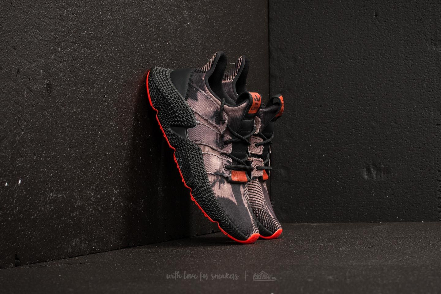 super popular 74c90 4d0fa adidas Prophere. Core Black Core Black Solar Red