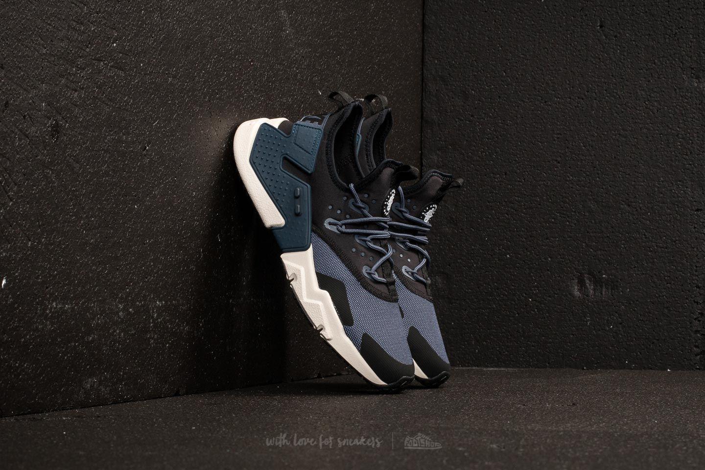 e269a1587001 Nike Air Huarache Drift Thunder Blue  Desert Sand-Black